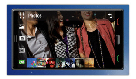 Detalles de la interfaz Symbian 2010