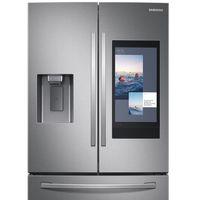 El nuevo frigo Family Hub de Samsung te recomienda recetas, hace la lista de la compra y permite compartir vídeos en su pantalla
