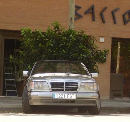 Mercedes descapotable de bajas emisiones
