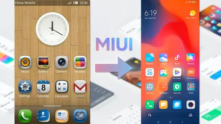 De MIUI v1 a MIUI v12.5: así ha cambiado el firmware de Xiaomi después de sus 11 años de vida