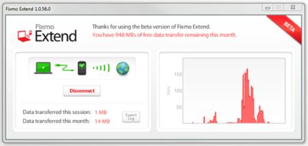 Fixmo Extend, tethering sin costes en tu BlackBerry