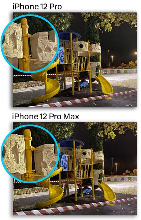 Iphone 12 Pro Max Modo Noche Comparacion