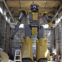 Japón presume al mundo su espectacular robot gigante de nueve metros y 7.350 kilos completamente operativo