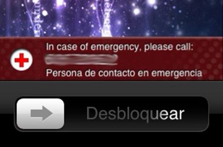 Aplicaciones para casos de emergencia