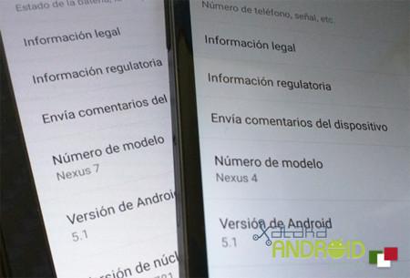 Los Nexus 4 y las Nexus 7 (2013) ya tienen sus imágenes de fábrica con Android 5.1