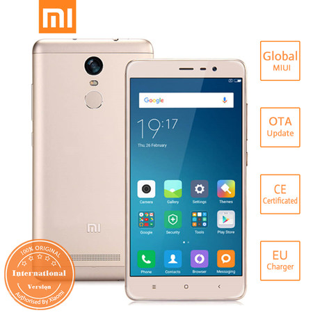 Redmi Note 3 Global Version