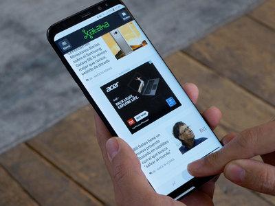 DisplayMate corona la pantalla del Galaxy S8 como la mejor del mercado al otorgarle la máxima calificación