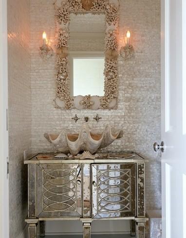 baño de conchas