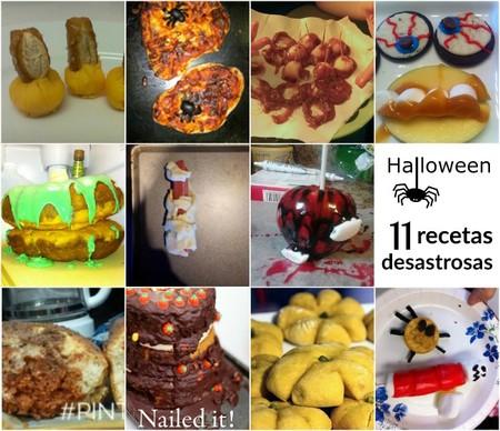 Gritarás del horror: 11 recetas desastrosas de Halloween