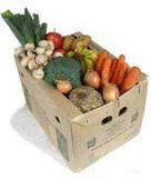Cesta verde, alimentos ecológicos en casa