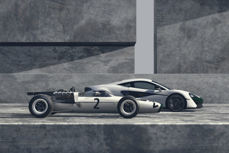 Así celebra McLaren sus 50 años en la Fórmula 1: una preciosidad llamada McLaren 570S M2B