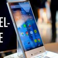 Un vistazo en vídeo al Sharp Aquos Crystal, el teléfono sin marcos