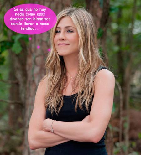 Jennifer Aniston se arrepiente de no haber ido al loquero: ¡para todo hay tiempo, reina!