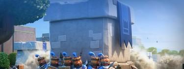 Esta horda de Guardias humanos es la nueva carta de Clash Royale