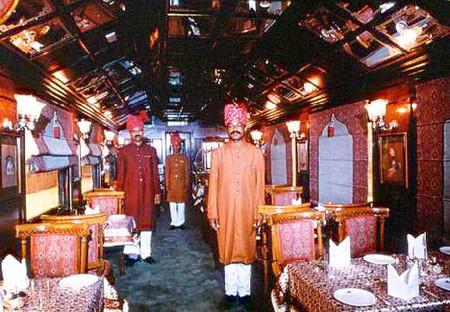 Viajar en tren como un rajá