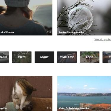 Vídeos gratis para cualquier tipo de situación: lo mismo sirven para ganar un Óscar que para editar un bautizo
