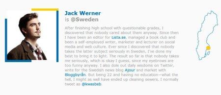 Suecia cede el control de @sweden a sus ciudadanos
