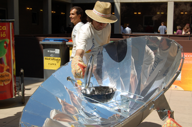 Cocina solar, una opción muy interesante