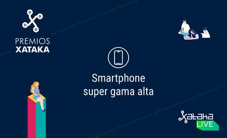 Mejor smartphone de gama super alta: vota en los Premios Xataka 2018