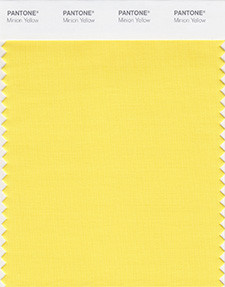 Pantone Color Institute Minion Yellow