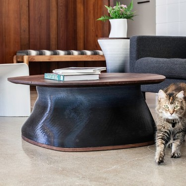 Muebles impresos en 3D como solución funcional y decorativa para espacios diversos