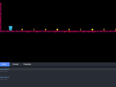 JSRobot, aprende a programar en JavaScript jugando un videojuego en tu navegador