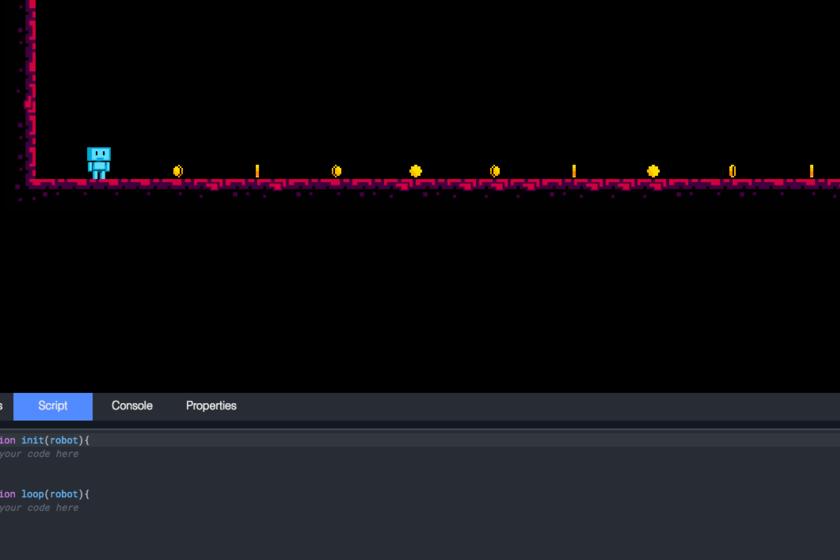 JSRobot, aprende a programar en JavaScript jugando un videojuego en ...