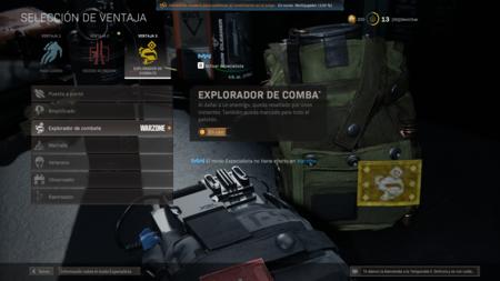 Explorador De Combate Warzone