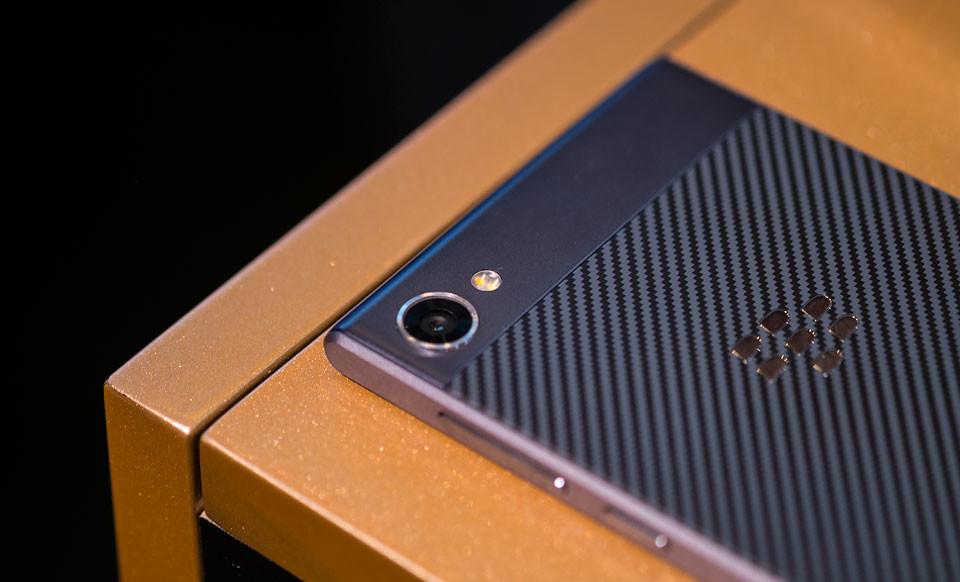 Blackberry Motion Camara