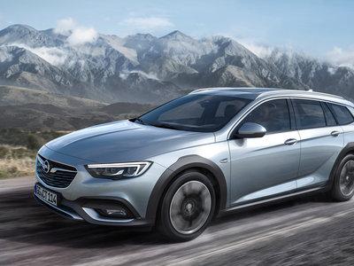 Un aperitivo del Opel Insignia Country Tourer 2017, el más aventurero de la gama