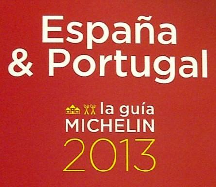 Las estrellas de la Guía Michelin España y Portugal 2013