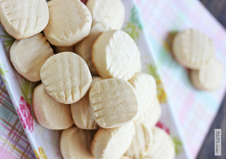 Galletas de leche condensada y maicena. Receta fácil y saludable sin gluten