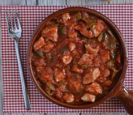Magra Recortada Con Tomate