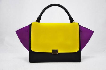 Los bolsos de moda son los que tienen forma de trapecio