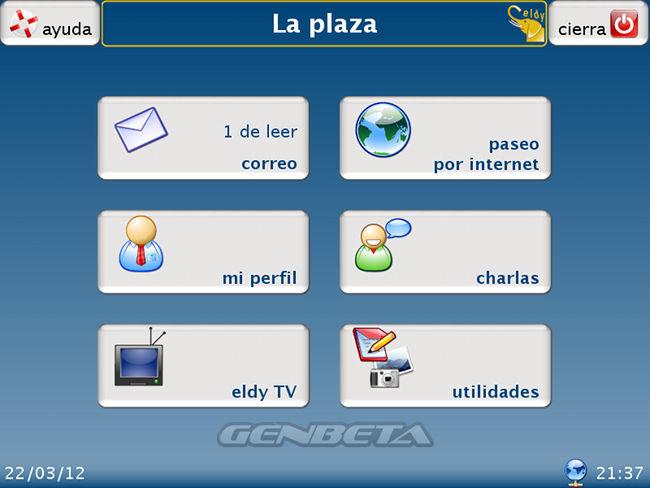 Eldy, La plaza
