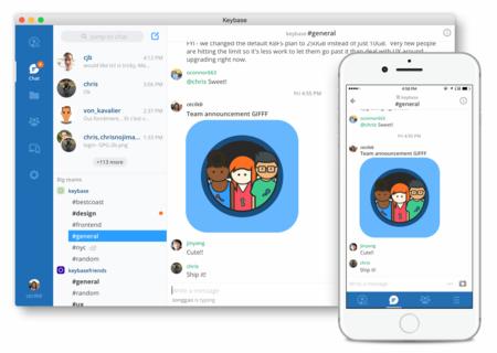 Keybase lanza su propio servicio de comunicación para equipos al estilo Slack, pero completamente cifrado y gratis