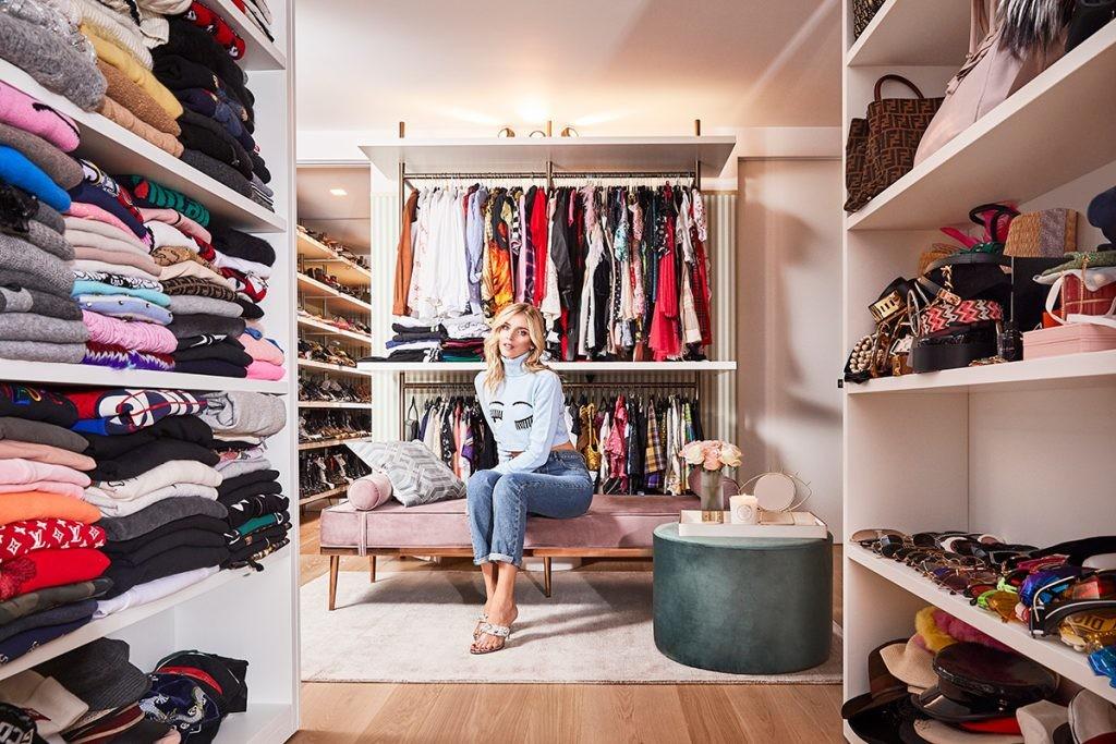 ¿Sueñas con el vestidor de Chiara Ferragni? Westwing te ayuda a conseguirlo gracias a dos ventas exclusivas inspiradas en él