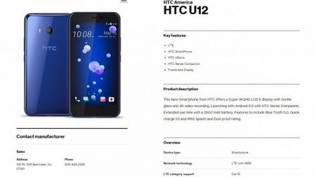 El HTC U12 en Verizon