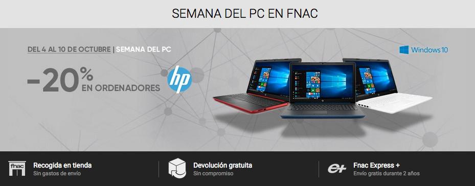 4e6f0398499f Semana del PC en Fnac: descuentos de hasta el 20% en equipos HP