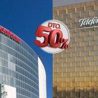 Guerra sin precedentes entre Movistar y Vodafone: 50% de descuento durante dos años en fibra + móvil + TV