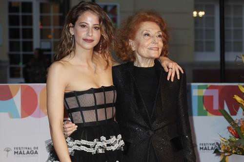 Las mejor vestidas de la alfombra roja de inauguración del 22º Festival de cine de Málaga