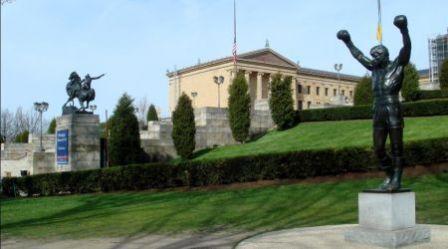 Rocky tiene su estatua en Filadelfia