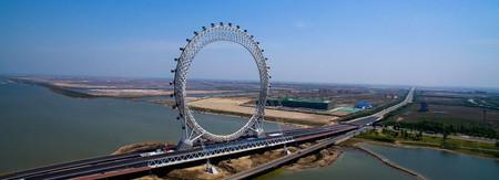 Bailang River Bridge Ferris Wheel Designboom 05 18 2017 818 Fullheader