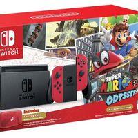 Nintendo Switch lanza su primera gran actualización y el bundle con Super Mario Odyssey llega a México