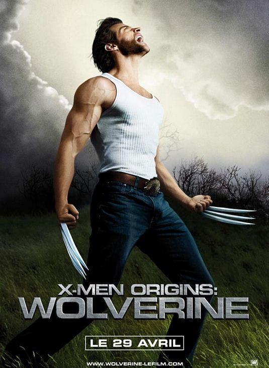 'X-Men Origins: Wolverine', póster internacional y fotos promocionales