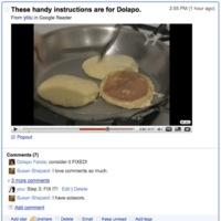 Google Reader añade conversaciones