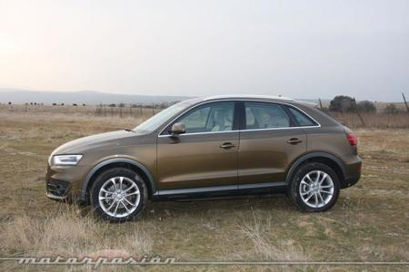 Audi Q3 2.0 TDI S-Tronic, prueba (exterior e interior)