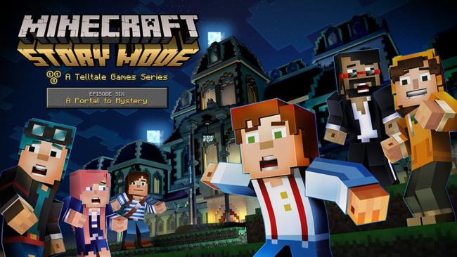 Minecraft Story Mode Episodio Seis