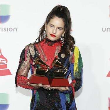 Estos son todos los looks que Rosalía ha llevado en los Latin Grammy Awards 2018