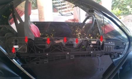 Kit de ventanillas Renault Twizy 03